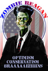 Zombie Ronald Reagan