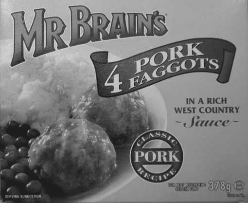 mr brains frozen faggots