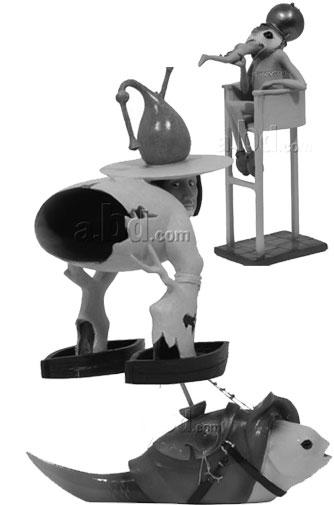 hieronymous bosch action figures