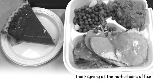 corporate thanksgiving dinner