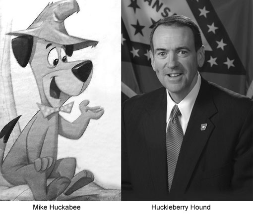 mike huckabee huckleberry hound