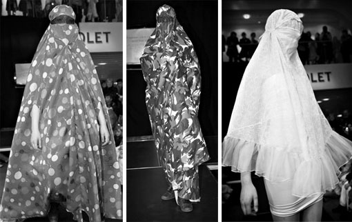 norwegian burqa fashion show