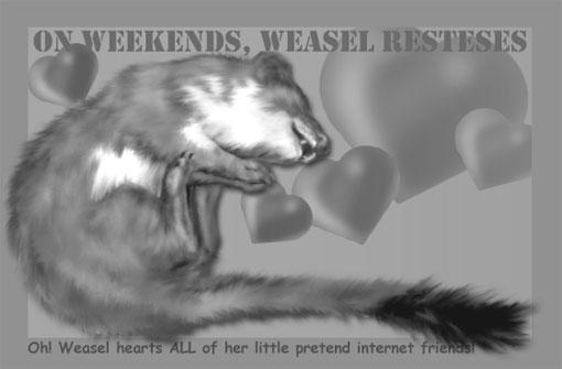 weasel hearts minions