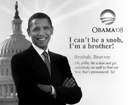 obama is a brother
