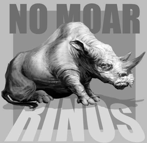no moar rinos!