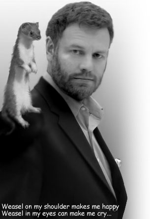 mark steyn and a weasel