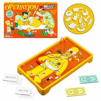 homer simpson operation