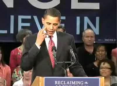 obama flips hillary the bird