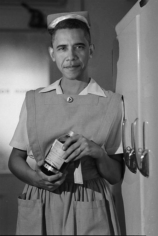 nurse obama